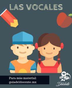Vocales-Preescolar