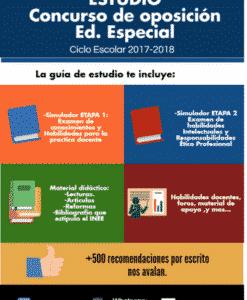 Concurso de oposición Ed. Especial 2017