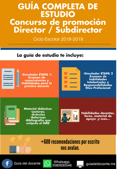 Examen de promoción Director 2018