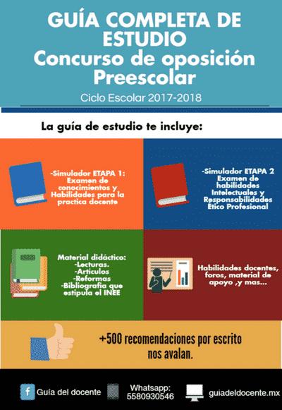 Examen de oposición Preescolar 2017