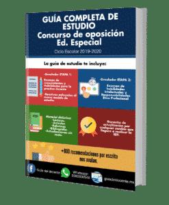 Concurso de oposición Educación Especial 2019
