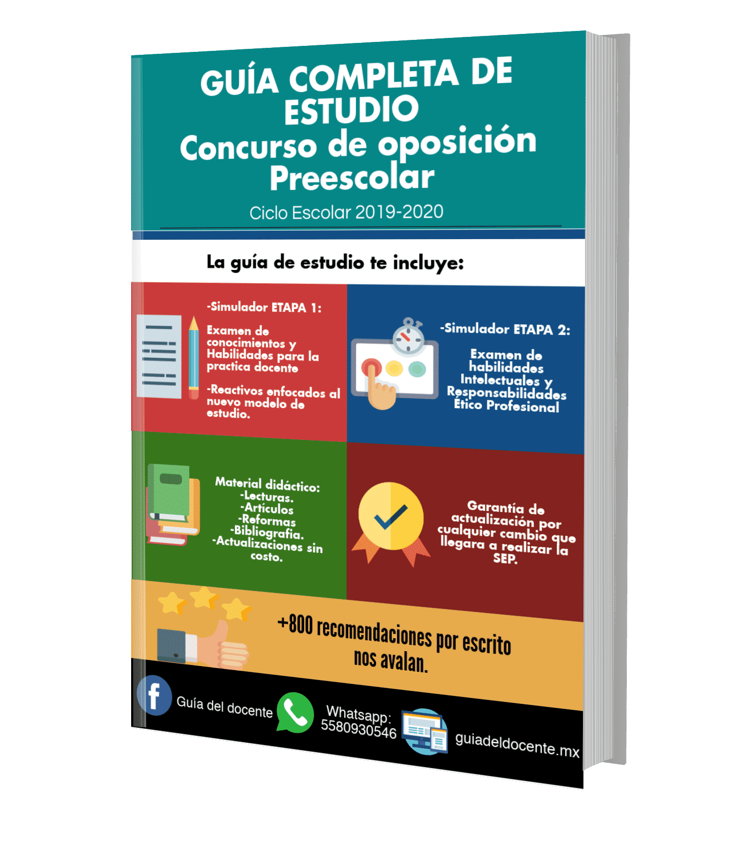 Concurso oposición Preescolar 2019