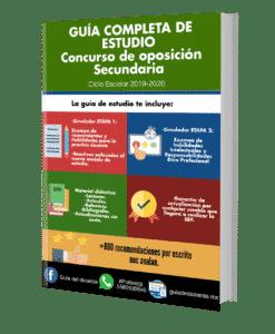 Concurso oposición Secundaria 2019
