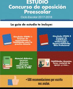 Concurso de oposicion Preescolar 2017