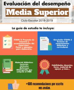 Evaluación del desempeño Media Superior 2018