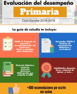 Evaluación del desempeño Primaria 2018