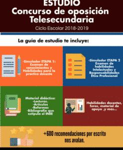 Concurso oposición Telesecundaria 2018