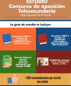 Concurso de oposición telesecundaria 2017