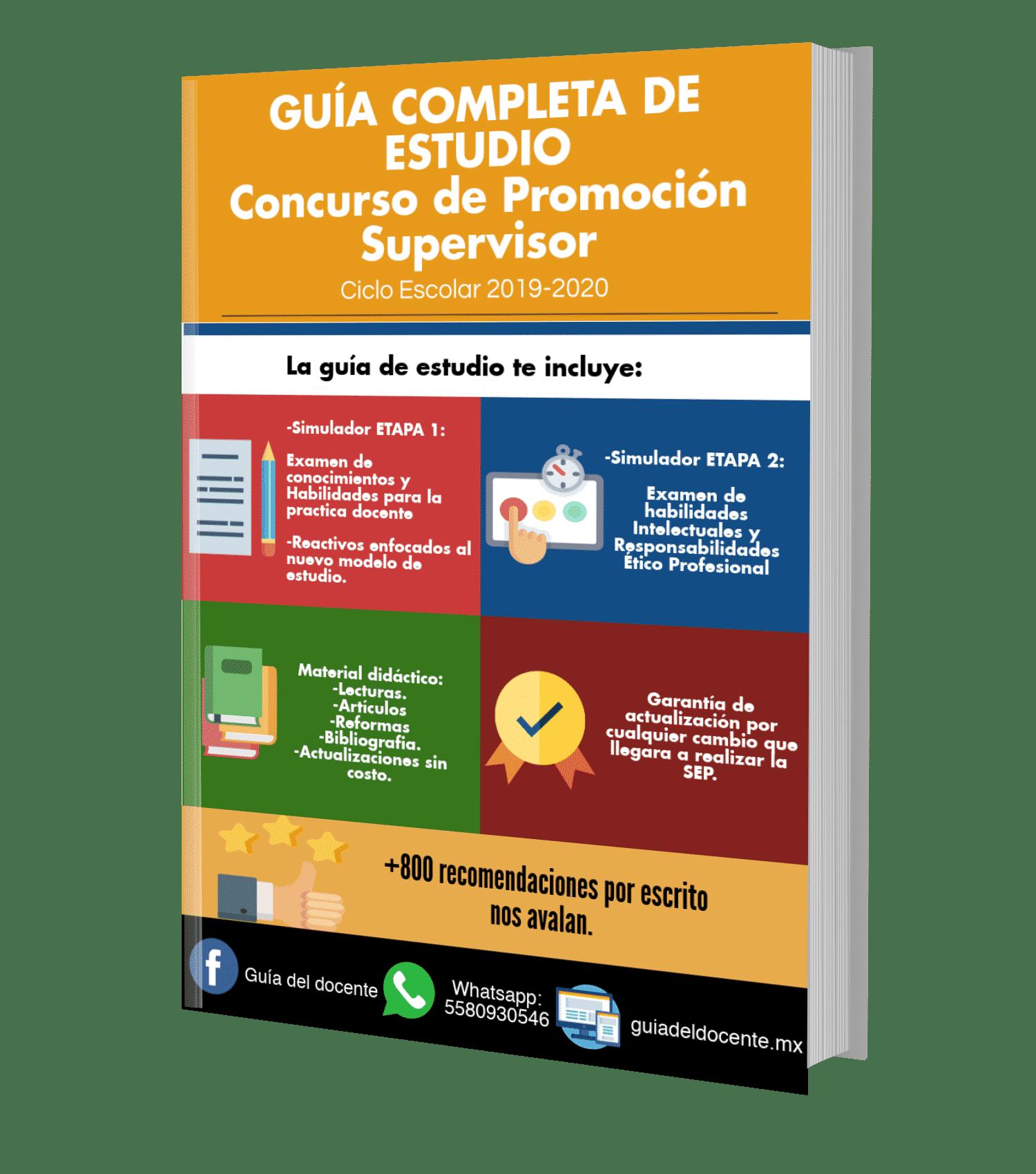 Examen de promoción Supervisor 2019