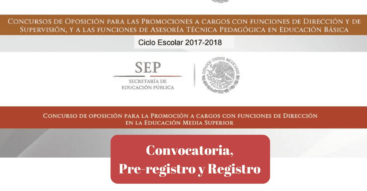 Convocatoria de promocion 2017-2018