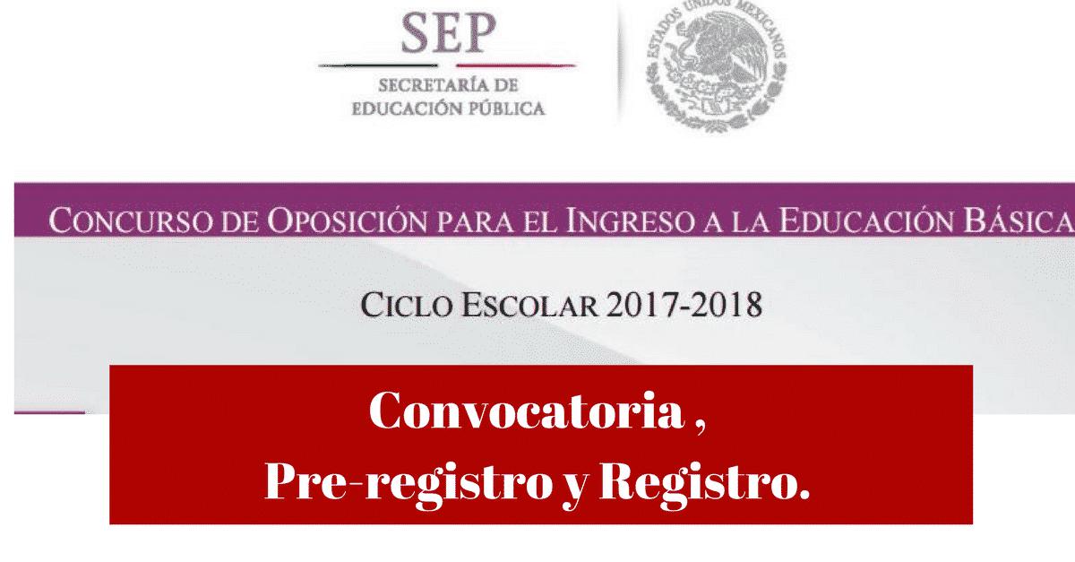 Convocatoria examen de oposicion 2017