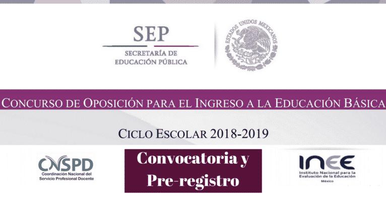 Perfiles para el concurso de oposici n docente educaci n for Convocatoria concurso de docentes 2016