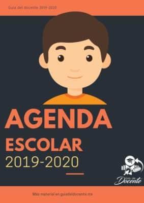 Agenda escolar 2019-2020 Hombre