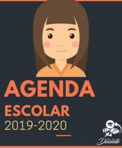 Agenda escolar 2019-2020 Mujer