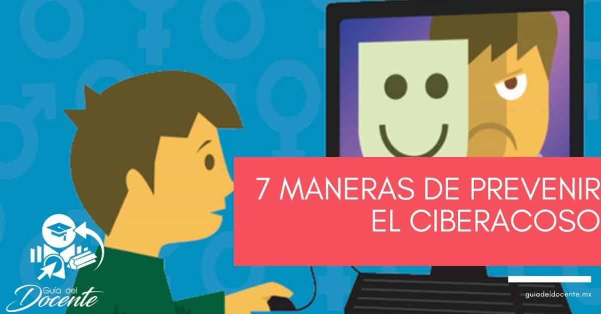 7 maneras de prevenir el ciberacoso