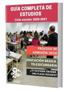 Examen proceso de admision telesecundaria 2020