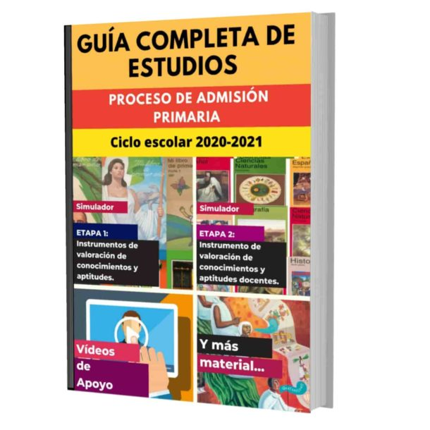 Examen de Admisión Primaria 2020