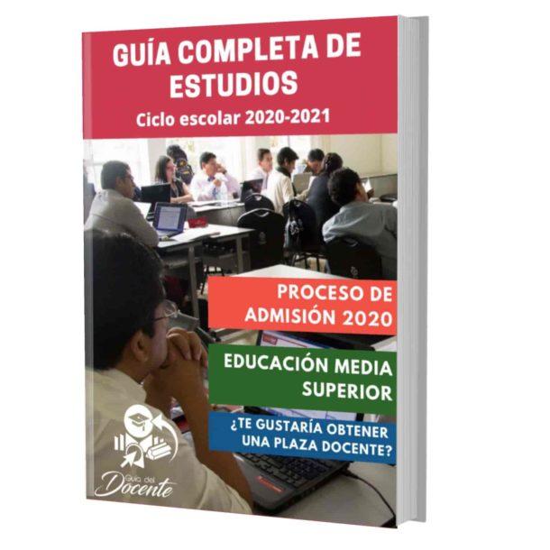 Examen proceso de admision Media Superior 2020