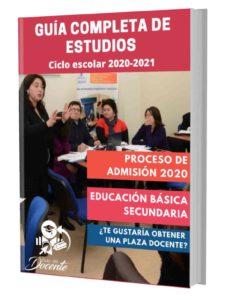 Examen proceso de admision Secundaria 2020