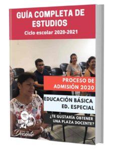 Examen proceso de admision Educación Especial 2020