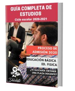 Examen proceso de admision Educación Fisica 2020