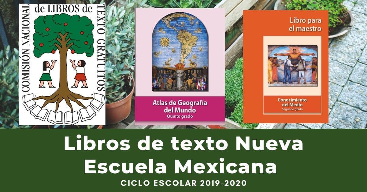 Libros de texto Nueva Escuela Mexicana